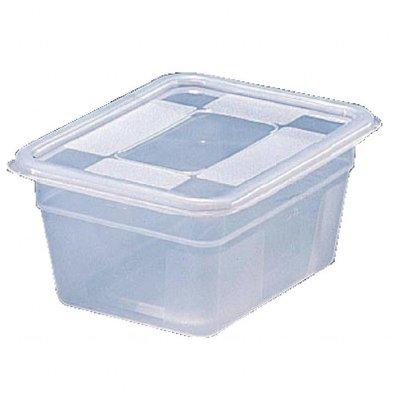 Bourgeat Behälter   GN 1/6    schwere Ausführung   Kunststoff   Erhältlich in 2 Größen