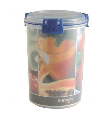 Sistema Frischhaltedose | Kunststoff | Rund |1 Liter