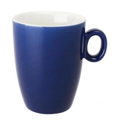 Olympia Tassen | 6 Stück | 32cl | Porzellan | Blau