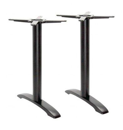Bolero Doppelter Tischfuß | 70cm-Tischplatten | Gusseisen