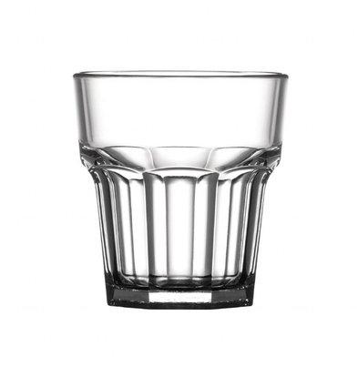 BBP Amerikanische Whiskygläser | 36 Stück | 25,5cl | Polycarbonat