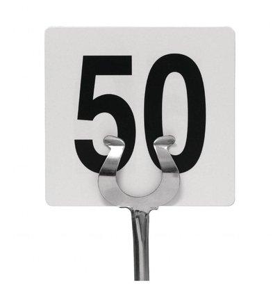 Olympia Tischkartenhalter | 25,5(H)cm | Edelstahl