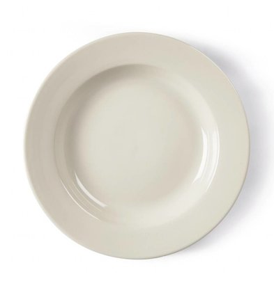 Olympia Tiefe Teller | 6 Stück | 27(Ø)cm | Porzellan