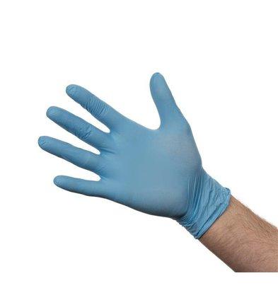 XXLselect Handschuhe | Puderfrei-Blau | 100 Stück | Erhältlich in 4 Größen
