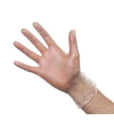 Vogue Handschuhe | Gepudert-Transparent | 100 Stück | Erhältlich in 4 Größen