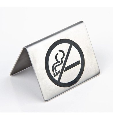 Olympia Rauchverbotsschild | Edelstahl