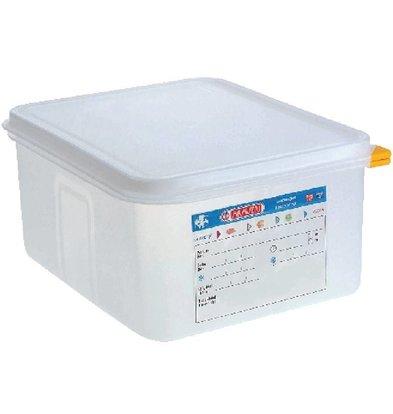 Araven GN1/2 Lebensmittelbehälter | 4er Pack | Erhältlich in 2 Größen