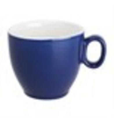 Olympia Tassen | 6 Stück | 24cl | Porzellan | Blau