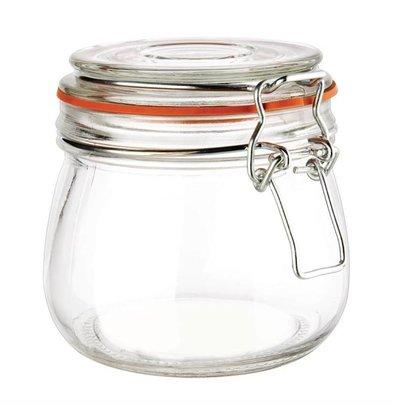 Vogue Einmachglas | Bügelverschluss | Glas | Erhältlich in 6 Größen