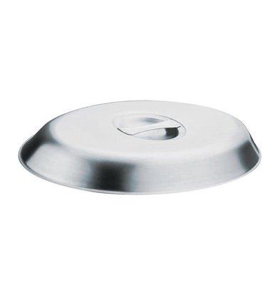 Olympia Ovale Deckel | Edelstahl | Erhältlich in 2 Größen