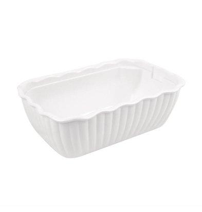 Dalebrook Salatschüssel | Weiß | 2,2 Liter