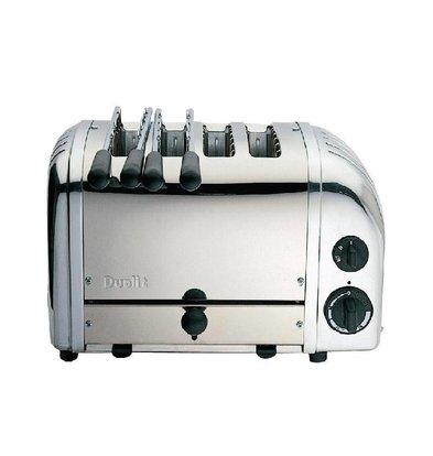 Dualit Toaster | 2,2 kW/230V | 4 Schlitze | Edelstahl
