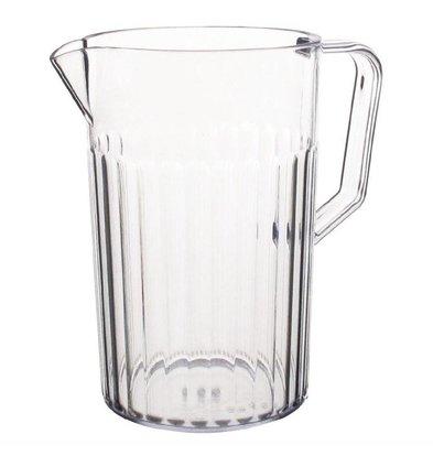 Kristallon Halbgetafelter Krug | Polycarbonat | 0,9 Liter
