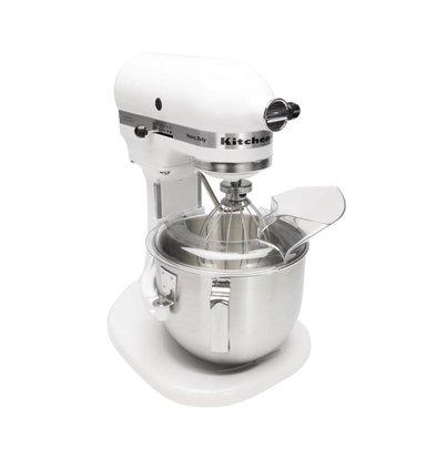 Kitchenaid Heavy Duty Küchenmaschine | 315W/230V | 4,8 Liter | Edelstahlschüssel | Weiß