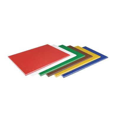 Hygiplas Schneidebrett | 600x450x12mm | Erhältlich in 6 Farben