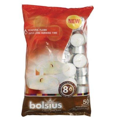 Bolsius Bolsius Teelichter | Packung 50 Stück