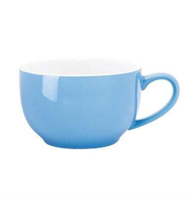 Olympia Kaffeetassen | 12 Stück | 22,8cl | Steinzeug | Blau