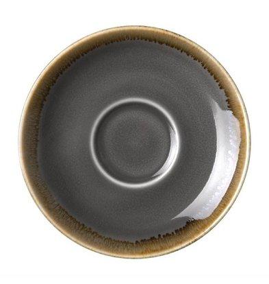 Olympia Untertassen | 6 Stück | Porzellan | Rauch | Erhältlich in 3 Größen