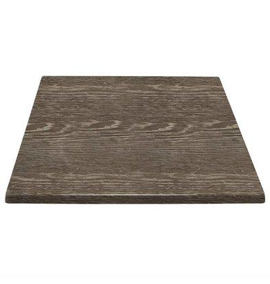 Bolero Rechteckige Tischplatt | Wenge | Erhältlich in 2 Größen