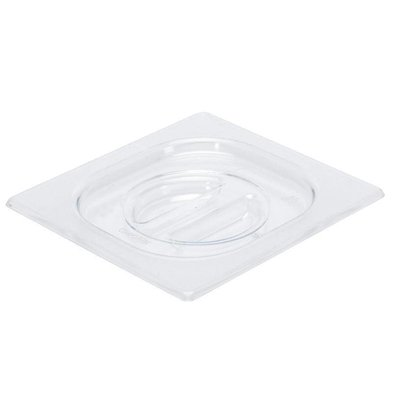 Gastro M Polycarbonat Deckel für GN Behälter GN1/6 | Polycarbonat