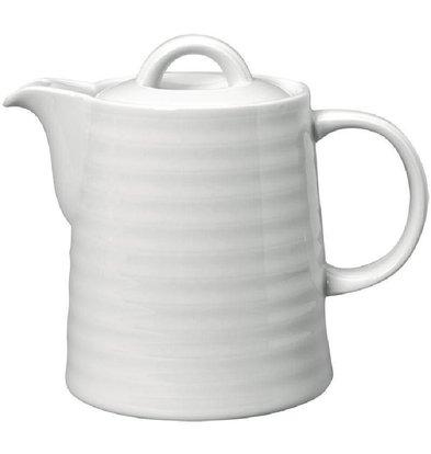 Intenzzo Kaffeekannen | Porzellan | Weiß | Erhältlich in 2 Größen