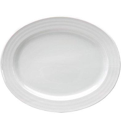 Intenzzo Ovale Schale | Weiß | Erhältlich in 4 Größen