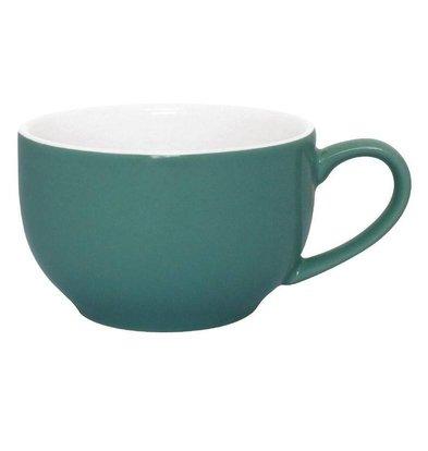 Olympia Kaffeetassen   12 Stück   22,8cl   Steinzeug   Aqua
