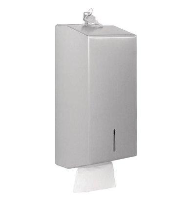 Jantex Massentoilettenpapierspender | Edelstahl
