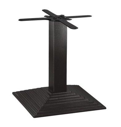 Bolero Viereckiger Tischfuß mit Stufen |  48(H)cm | Gusseisen