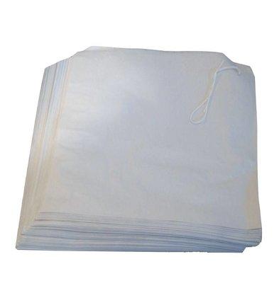 XXLselect Papiertaschen | Weiß | 1000 Stück