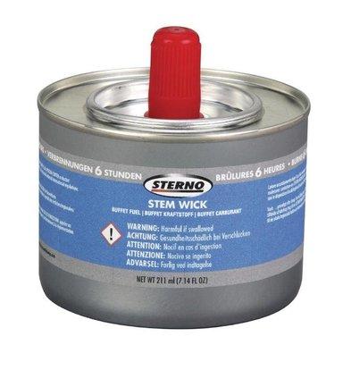 Sterno Flüssige Brennpaste | 12 Dosen | Brennzeit 6 Stunden