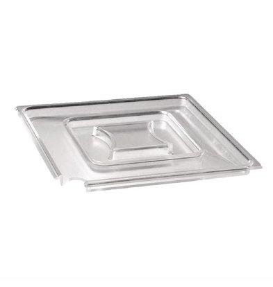 XXLselect Eckige Deckel | Transparent | Erhältlich in 2 Größen