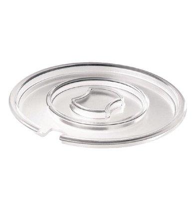XXLselect Runder Deckel | 20,5(Ø)cm | SAN | Transparent