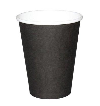 Fiesta Coffee To Go Becher | Schwarz | 230ml | Erhältlich in 2 Größen