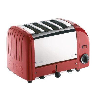 Dualit Toaster |Rot | 4 Schlitze