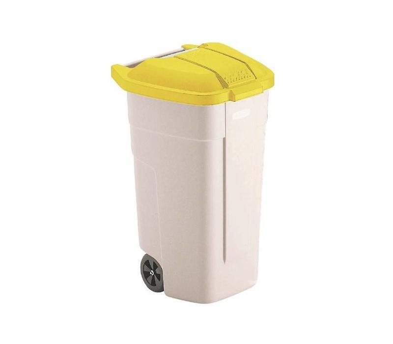 Rubbermaid Abfallcontainer | 100 Liter | Erhältlich in 4 Farben/Deckel
