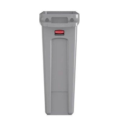 Rubbermaid Abfalleimer 87 Liter | Grau