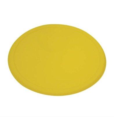 Rubbermaid Deckel | Rund | Gelb | Erhältlich in 2 Größen