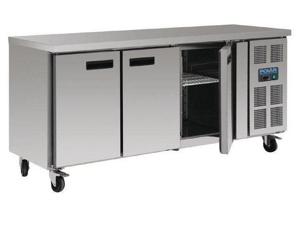 Polar Kühltisch | 417 Liter | 3 Türen | 1795x700(h)860mm