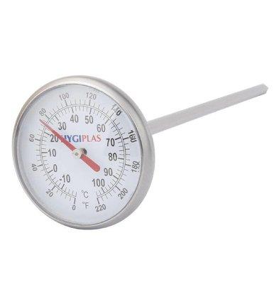 Hygiplas Taschenthermometer mit Zifferblatt
