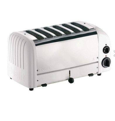Dualit Toaster Weiß | Dualit | 6 Schlitzen | 195 Scheiben p/St