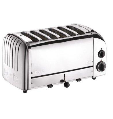 Dualit Edelstahl Toaster | Dualit | 6 Schlitzen | 195 Scheiben p/St