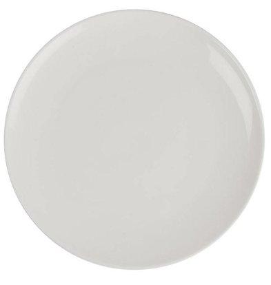 Lumina Fine China Coupeteller 300mm | Lumina Porzellan Weiß | 2 Stück