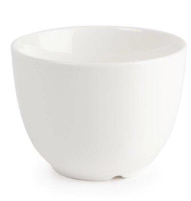 Lumina Fine China Zuckerschale | Lumina Porzellan Weiß | 6 Stück