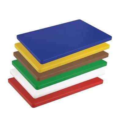 Hygiplas Schneidebrett Hygiplas | 450x300x20mm | Erhältlich in 6 Farben
