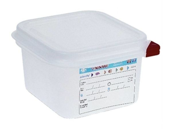 Araven Vorratsbehälter Araven 1/6GN   1,6 Liter   4 Stück