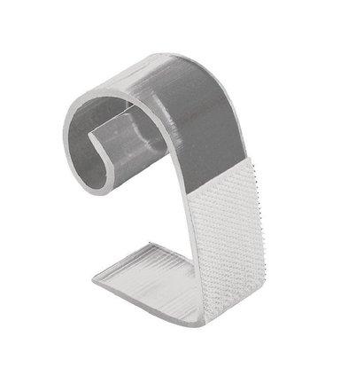 XXLselect Klettbandtischklipps für Skirting | 25-50mm | 10 Stück