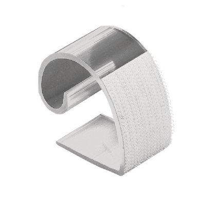 XXLselect Klettbandtischklipps für Skirting | 10-30mm | 10 Stück