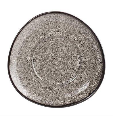 Olympia Dreieckige Untertasse Olympia Mineral | Ø150mm | 6 Stück