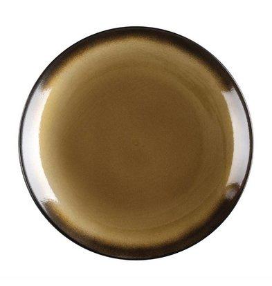 Olympia Tapas Coupeteller Nomi | Gelb-Schwarz | Erhältlich in 2 Größen